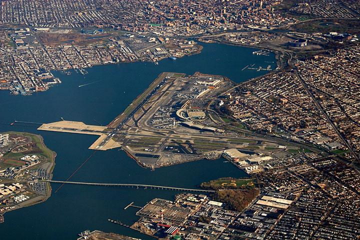 New York City Area Airport Map - New York City Airports