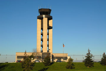 rochester airport control tower